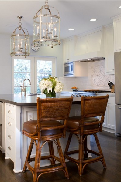 Crisp White Kitchen Cabinet Paint Color-42 Kitchen Interior Design Trends for Traditional Homes