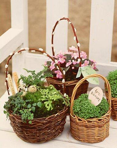 Easster basket with personalized messages