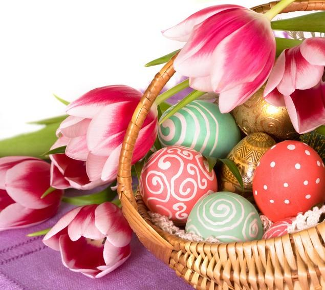 Easter Baskets - Fresh Ideas For Arrangement and Decoration