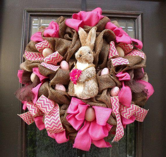 Easter Bunny Wreath for great fun-home decorations with impressive holiday ideas