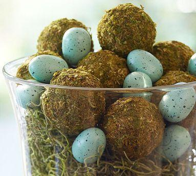 Easter countryside table centerpice