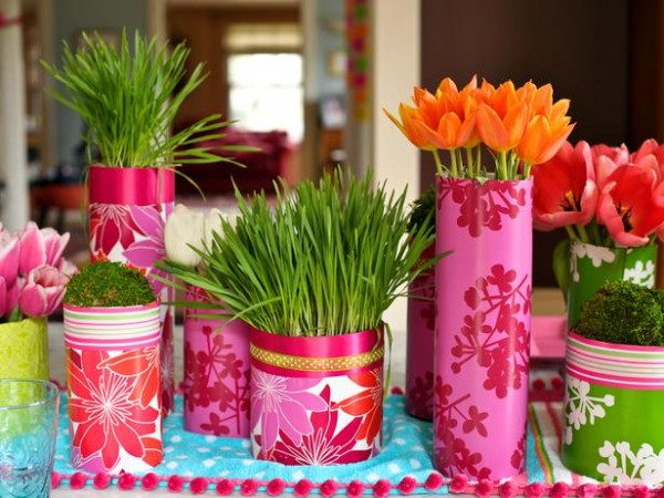 Easter fresh pink items – home decorating ideas for funny and joyful atmosphere