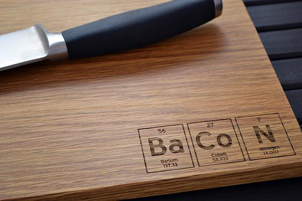 Periodic Table Cutting Board A Creative Kitchen
