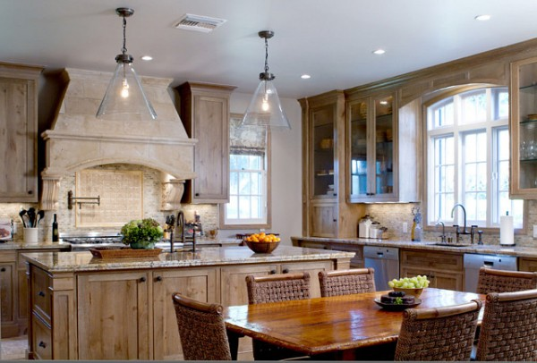 French Colonial kitchen design-42 Kitchen Interior Design Trends for Traditional Homes