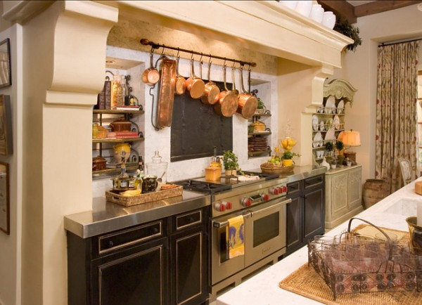French Stone Kitchen Hood-42 Kitchen Interior Design Trends for Traditional Homes