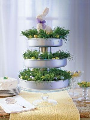 Fresh spring Easter table centerpiece-home decorations with impressive holiday ideas
