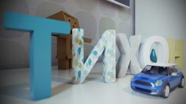 Funny letters inside a kids room- interior design and decoration ideas for children living areas