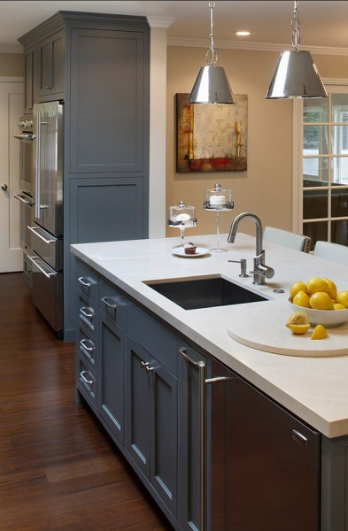 Gray Kitchen Cabinet Paint Color-42 Kitchen Interior Design Trends for Traditional Homes