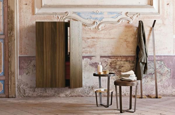 Italian shabby chic bathroom design