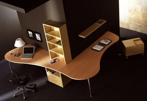Junior room with stylish study desk-modern interior design ideas by Nueva Linea.