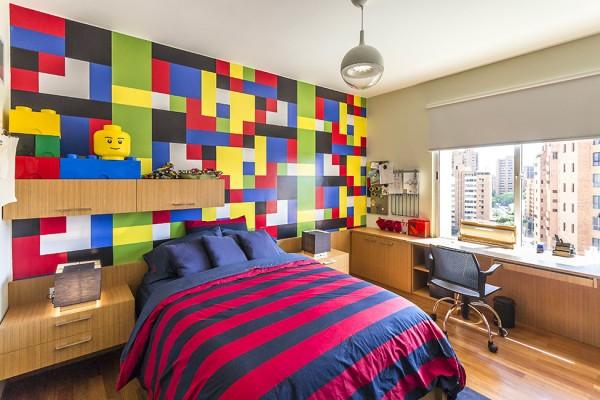Lego children bedroom