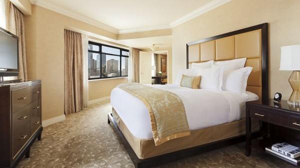 Luxury hotel room in Denver-Bedroom Interior Design Examples Inspired from Hotel Rooms