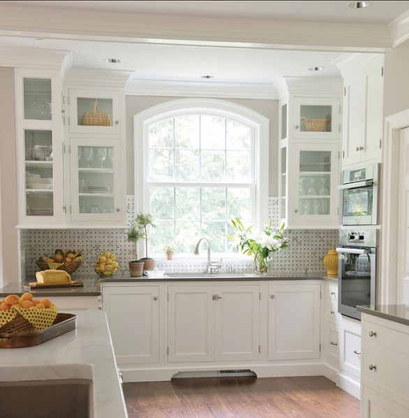 OC-17 Kitchen Cabinet Paint Color in a traditional home-42 Kitchen Interior Design Trends for Traditional Homes