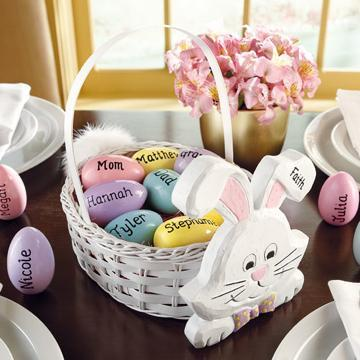 Personalized Easter eggs with names