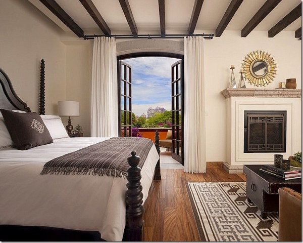 Rosewood Hotel room-Bedroom Interior Design Examples Inspired from Hotel Rooms