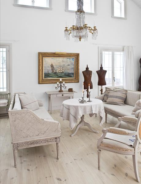 Shabby chic interior design and home decoration ideas Shabby chic decorating ideas living room