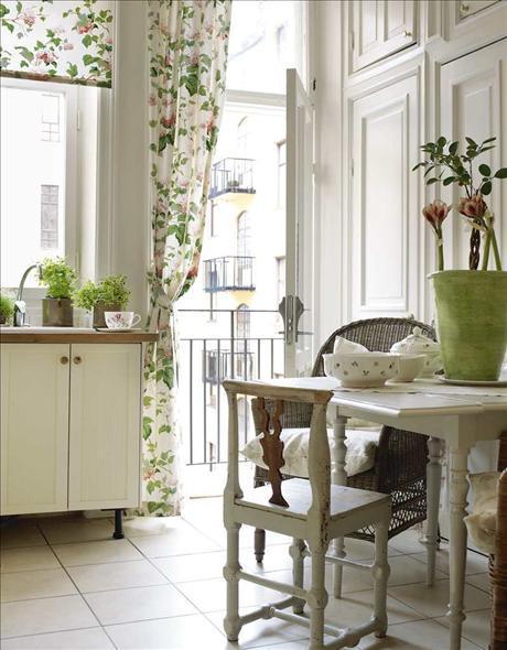 shabby chic interior design and home decoration ideas founterior. Black Bedroom Furniture Sets. Home Design Ideas