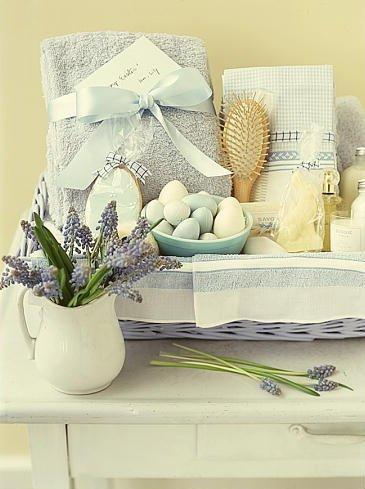 Spa Easter basket for refreshing sessions
