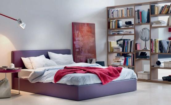Spacious junior bedroom-modern interior design ideas by Nueva Linea.