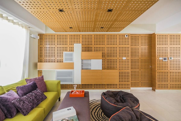 Specially designed walls for music acoustics