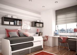 Stylish Junior and Teen Bedroom Interior Design Ideas