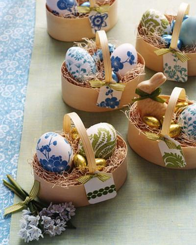 Sweet little Easter nests