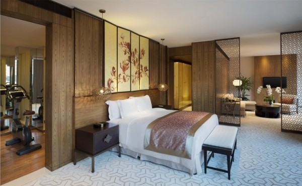 Twelve hotel room at Hengshan - Shanghai-Bedroom Interior Design Examples Inspired from Hotel Rooms