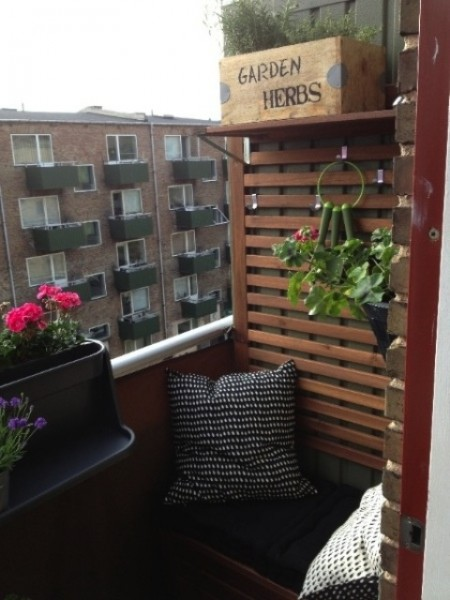 Urban Scandinavian balcony-Trendy designs for outdoor home spaces