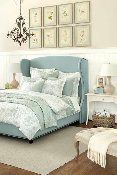 Washed Color Palettes in a bedroom– elegant interior design for sleeping rooms