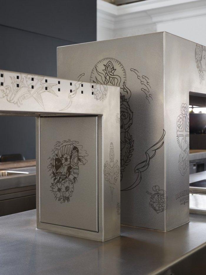 Creative modern art details- The Jane Restaurant in Antwerp