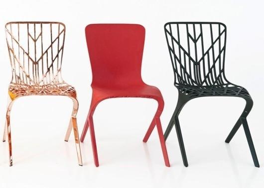 David Adjaye for Knoll - creative chairs-at Milan Design Week