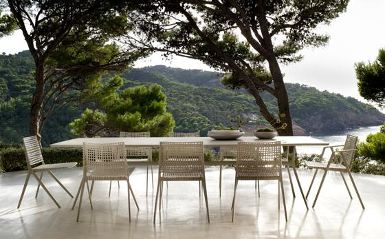 Dinning table among the Nature– stylish modern furniture by Tribu