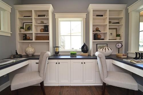 Dual home working space- personal office design ideas