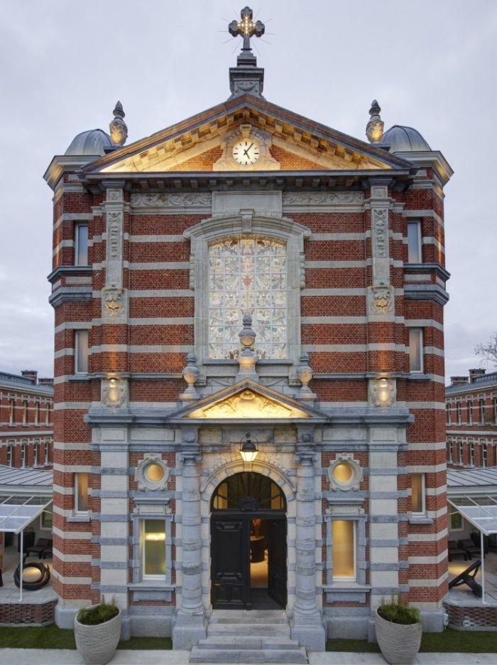 Dutch chapel- The Jane Restaurant in Antwerp
