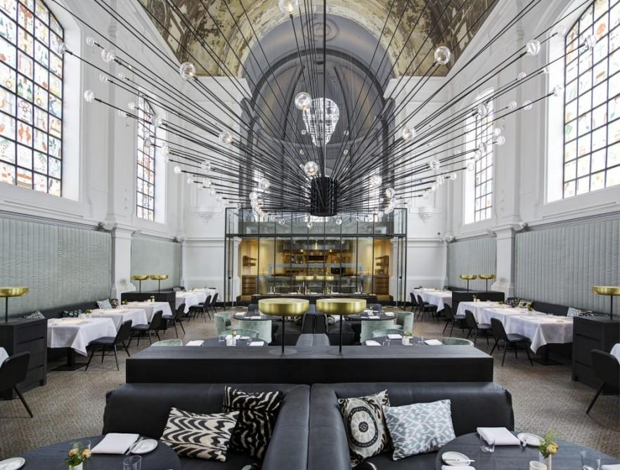 Splendid Eclectic Restaurant nested in a Chapel in Antwerp