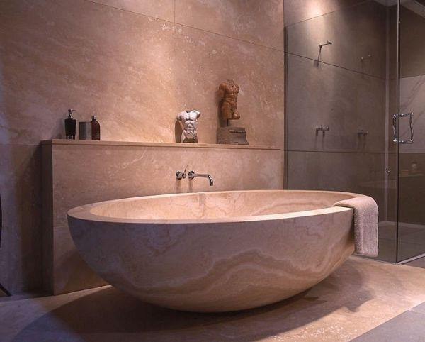 Japanese bathroom oval sink