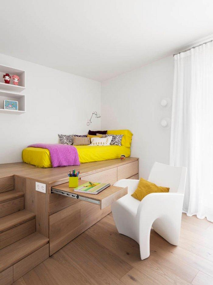 Kids room design in modern and minimalist style
