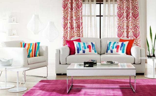 Colorful Variations of Living Room Interior Design