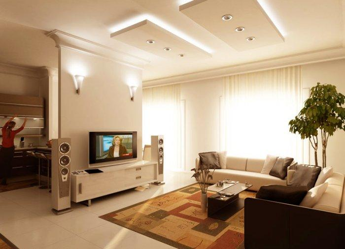 Living room with TV and audio- Fresh home ideas for having fun