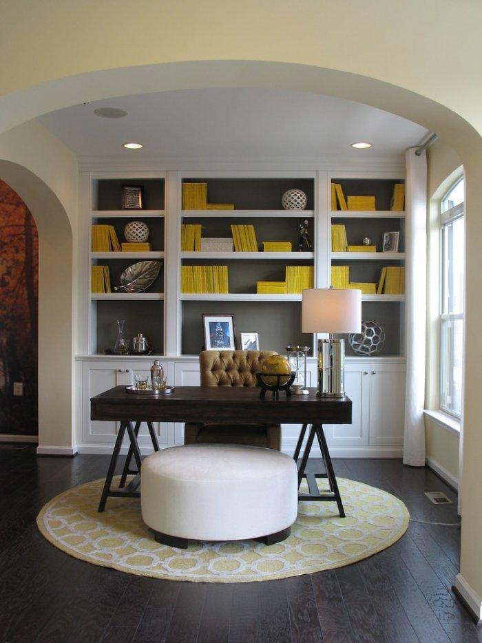 Masculine study room- personal office design ideas