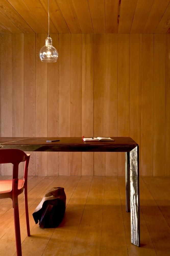 Olkd Study Room: Small Minimalist House Interior Design In Canada