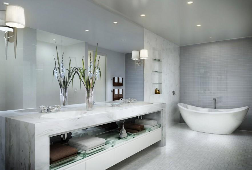 GREAT Modern Bathroom Design Ideas and Trends | Founterior
