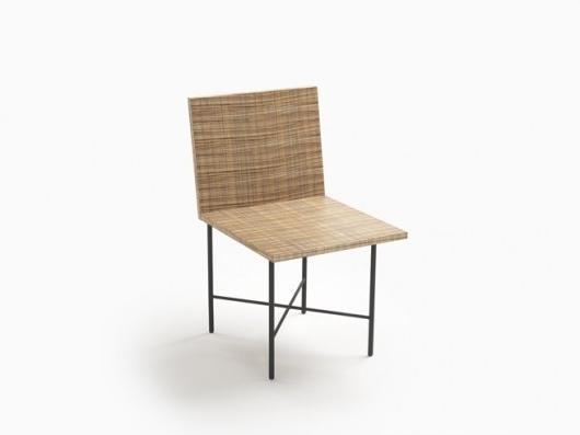 Nendo print-chair concept-at Milan Design Week
