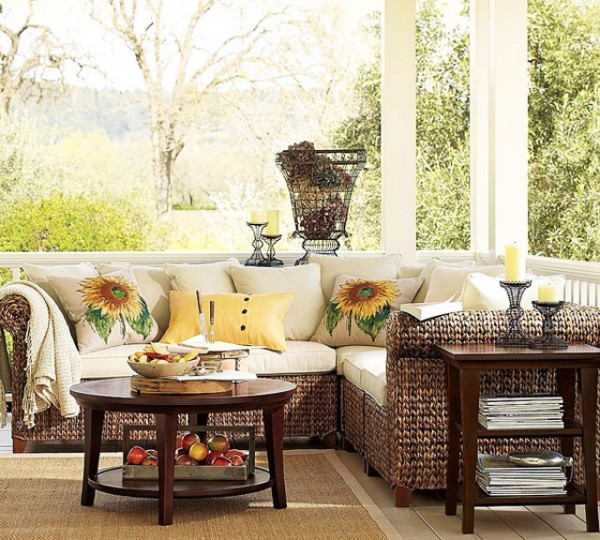 Pottery Barn Furniture Long Island: Eco Elements In Residential Interior Design