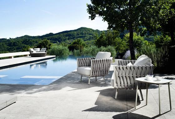 Relaxing outdoor armchairs– stylish modern furniture by Tribu