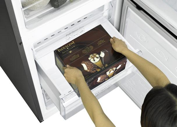 Samsung 3050 - enough space in the freezer section
