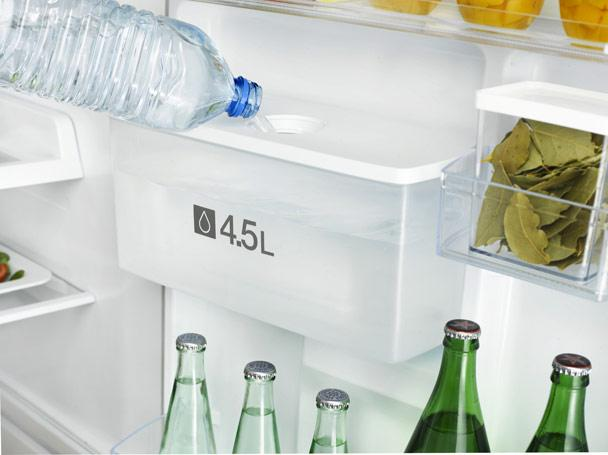 Samsung 3050 - special section for water that turns into ice