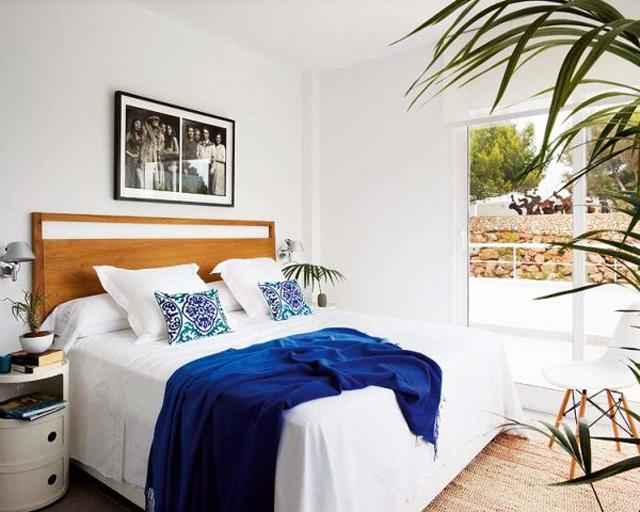 Simple and elegant bedroom– fresh summer home emotions