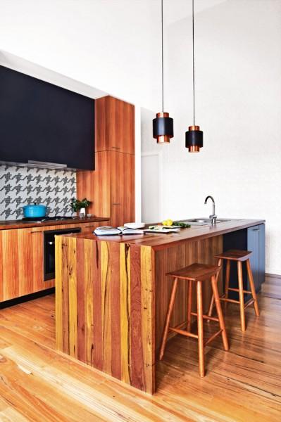 Small open plan kitchen