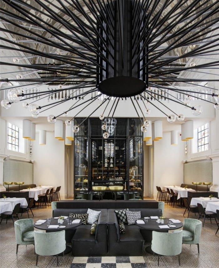 Stylish modern armosphere- The Jane Restaurant in Antwerp